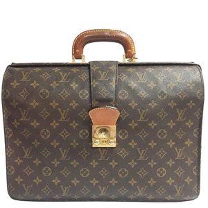 Louis Vuitton Serviette Fermoir monogram briefcase